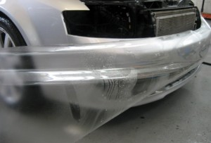 Audi front wrap with 3M Scotchgard